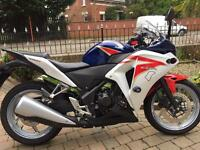 2 Honda cbr250s both 2011 both mint 900 miles and 2300