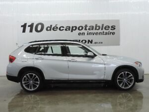 2014 BMW X1 xDrive28i CUIR ROUGE NEVADA TOIT PANO
