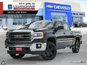 2015 GMC Sierra 1500 Crew 4x4 SLE / Short Box