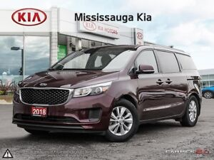 2018 Kia Sedona LX+ POWER DOORS|PUSH START|BACK UP CAM|LOW KM