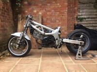 Suzuki sv650 project race track bike