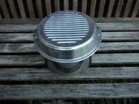 Set of 5 aluminium camping pans plus frying pan and handle plus 2 lids