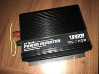 1000w Modified Sine Wave Power Inverter 12V DC to 240V AC