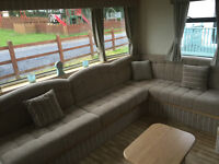 bargain static caravan at grondre vale holiday park narbath nr Tenby