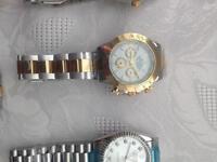 Designer Watches Rolex Armani Gucci Hublot Cartier Rado Versace