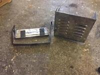 96 Harley sportster 883 chrome battery case with battery mount