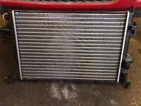 Corsa 1.8 sri new radiator