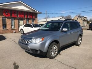 2012 Subaru Forester X Limited Leather Navi Pano Roof 2 Sets Whe