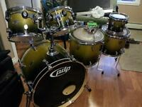 PDP X7 Maple drum kit DW made with some acc.
