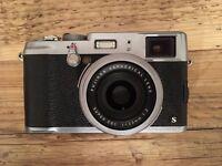 Fujifilm X100S Black & Silver 16.3 MP Digital Camera - Case, Memory Card and Accessories