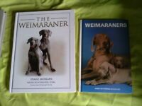 Weimaraner books,superb cover everything about this beautiful breed.