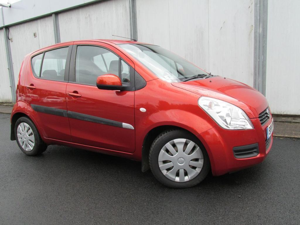 Suzuki Splash 1.2 SZ3 5dr (orange) 2011