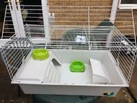 Guinea Pig Cage & Many Accessories