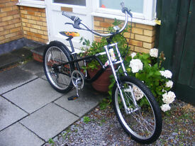LOW RIDER CRUISER BIKE IN GREAT WORKING ORDER AGE 14-ADULT HARDLY USED