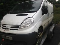 2008 Nissan primastar vivaro traffic spares or repairs new gear box just fitted