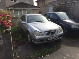 *BMW NOW GONE* Mercedes 230K, 89K, Silver, heated seats, new battery, no tax or MOT