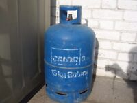 EMPTY Calor Gas - 15kg Butane Bottle