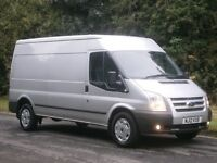 2012(12) Ford Transit T350 125bhp LWB TREND SEMI HIGH ROOF, SILVER, ONE OWNER, VERY CLEAN, FINANCE??