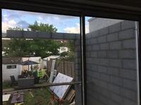 Sliding Patio Door Alumunium 2.1mtr wide Double Glazed Including Wood Frame