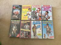"VHS video tapes ""Roy Chubby Brown"" x 8 Ex Con"