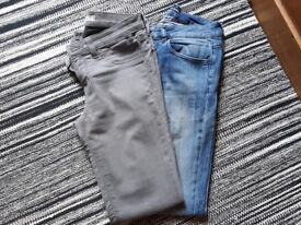 Jeans - 2 pairs size 27