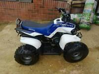 AEON COBRA 100cc RT 3, quad bike , latest model , blue and white, 2 stroke petrol