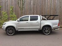 2008 08.REG TOYOTA HILUX 3.0 D4D AUTOMATIC DIESEL INTIMIDATOR MODE DOUBLE CAB