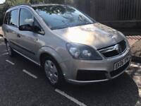 2006 Vauxhall zafira life 105bhp 1.6 Petrol 7 seater mot till Dec