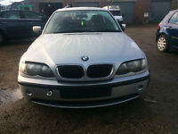 bmw e46 breaking for spares and repairs saloon se call for parts thanks