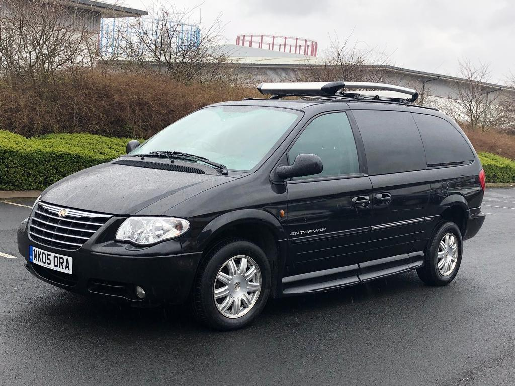 2005 Chrysler Grand Voyager Ltd 28 Crd Automatic 6 Seater Disabled Tuning Access