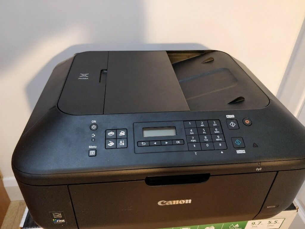 Canon Pixma MX535 All-in-One Printer Tested Working