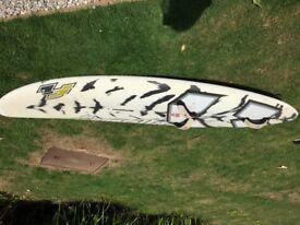 2008 ish F2 Guerilla 84l Windsurfing Board.