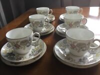 Vintage Wedgwood Tea Set 18pce - Lichfield pattern