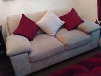 Two two seater sofa's