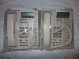 TOSHIBA DKT2010F-SD Phones x 2 for Strata CTX Switchboard etc.