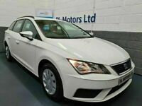 MAY 2018 SEAT LEON 1.6 TDi S ESTATE 115BHP 1OWNER FIRST CLASS JUST SERVICED SPACIOUS !