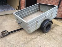 Trailer 4ft x 3ft with light board '£75 ono'
