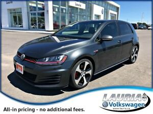2015 Volkswagen GTI Autobahn Manual - Leather / Sunroof