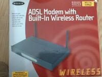 Belkin ADSL Modem with Built-in Wireless Router