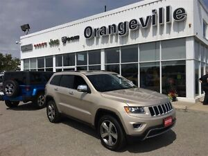 2015 Jeep Grand Cherokee LIMITED, V6, 4X4, ROOF, UCONNE