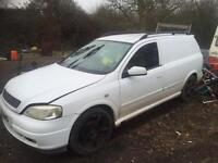 Astra van 1.7dti 51 plate forsale spares or repairs