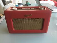 Roberts RD60 Revival DAB Radio In Red - excellent condition