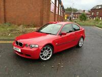 Bmw 3 series compact m-sport 54 reg Imola Red