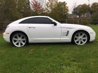 2003 53 CHRYSLER CROSSFIRE 3.2 V6 2 DR COUPE AUTOMATIC 12 MONTH'S M.O.T IN WHITE