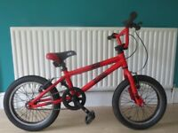 """CUDA DIRT SQUIRT BOYS BIKE.16"""" WHEELS. IN GREAT CONDITION,ALL FULLY WORKING.READY TO RIDE."""