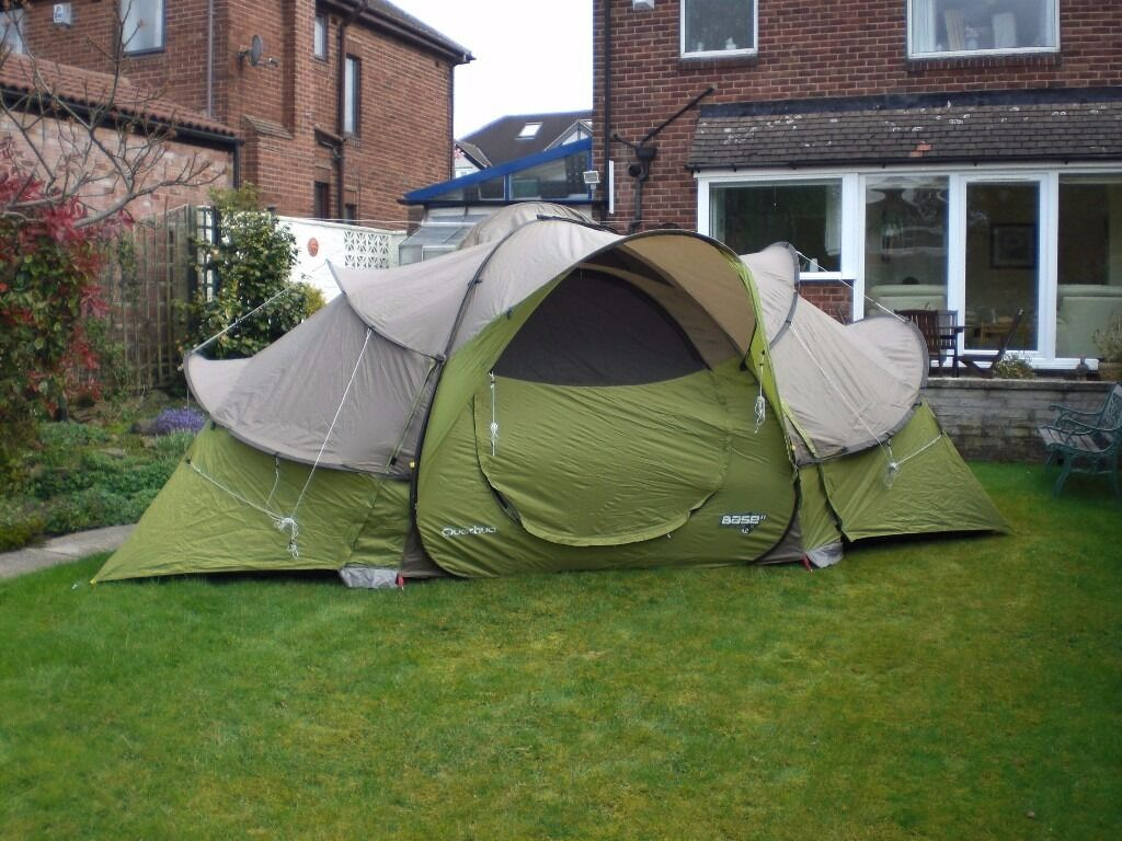 quechua base 4 2 seconds pop up tent in sheffield south. Black Bedroom Furniture Sets. Home Design Ideas
