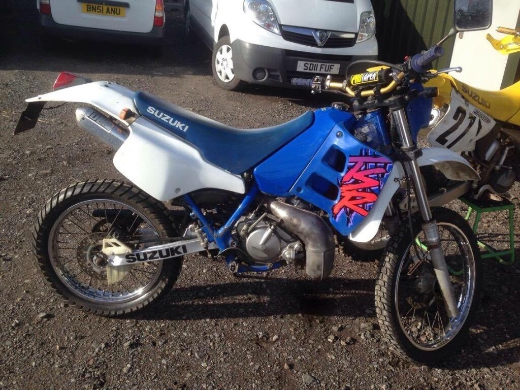 suzuki tsr 125 1996 motocross enduro road legal crosser 125ccv in stratford upon avon. Black Bedroom Furniture Sets. Home Design Ideas