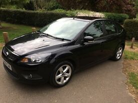FORD FOCUS TDCI ZETEC 1.6 DIESEL REG 2009 ROAD TAX 12 MONTHS £30