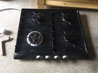 4 ring Black Gas Hob - Unknown brand
