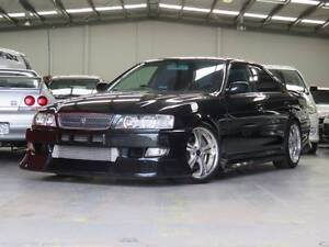 1999 Toyota Chaser auto series II 2.5L Single Turbo 1JZ GTE Sedan Bayswater Knox Area Preview